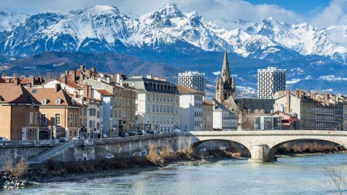 Grenoble en hiver